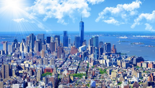 Retour New York in juni € 391,-